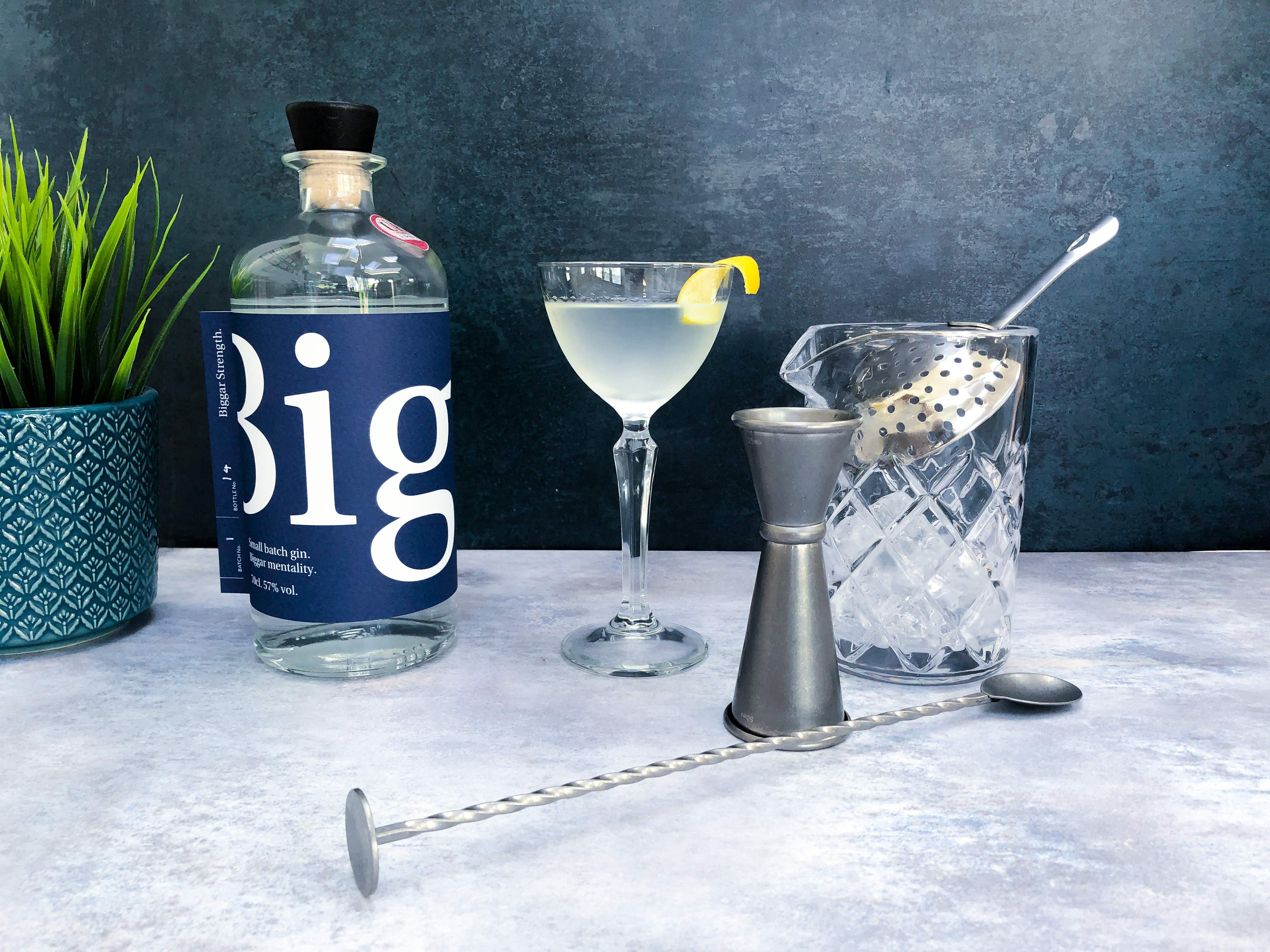 Biggar Strength Martini
